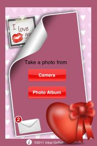 Main menu iLove Photos